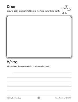 Elephant (Draw...Then Write)