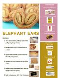 Elephant Ears Cookies Visual Recipe!