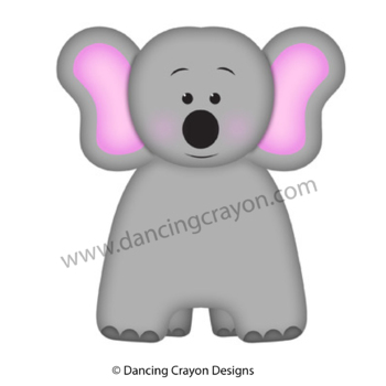 Elephant Finger Puppet / Elephant Reminder Note by Dancing ...