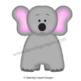 Elephant Finger Puppet / Elephant Reminder Note