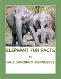 Elephant Fun Facts! Possible Interactive Notebook Activity