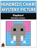 Elephant Hundreds Chart Mystery Picture
