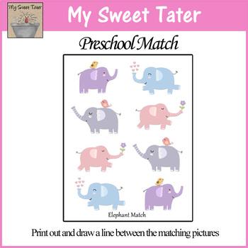 Elephant Match Sheet