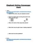 Elephant Online Scavenger Hunt