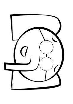 """Elephant & Piggie"" Theme - Mask 4 Pack"
