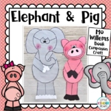 Elephant & Piggie Craft: Mo Willems book craft: Book Companion Crafts