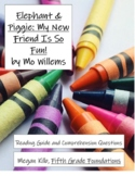 Elephant & Piggie My New Friend Is So Fun! Mo Willems Reading Guide