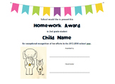 Elephant & Piggie Themed Character & Academic Awards with Bible Verses