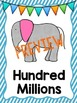 Elephant Place Value Posters