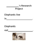 Elephant Research Project