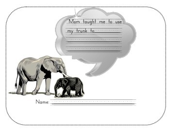Elephant Response Sheet