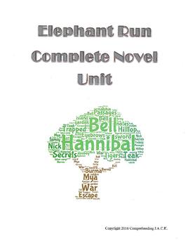Elephant Run Complete Novel Unit