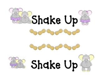 Elephant Shake Up