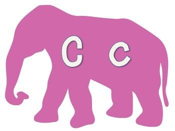 Elephant Theme : Alphabet