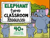 Elephant Theme Decor Pack