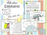 Elephant Theme for preschool (Age: 4+)