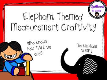 Elephant Themed Measurement Craftivity