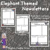 Elephant Themed Newsletters