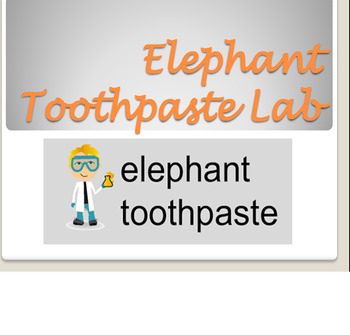 Elephant Toothpaste Lab Report(Fun Lab w/ Scientific Method)