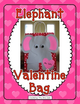 Valentine Elephant Bag (Craft)