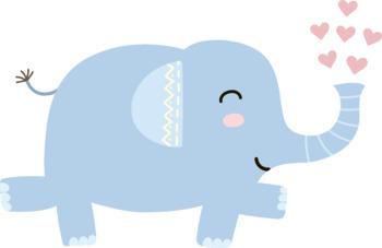 Elephant Vector Clipart