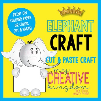 Elephant's Who? Craft