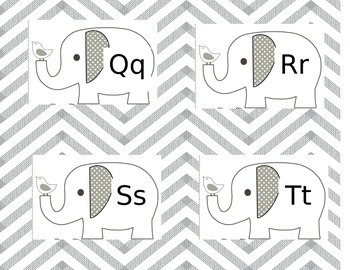 Elephant Wordwall Headers