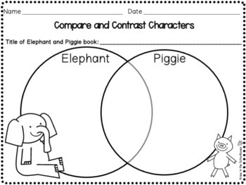 Elephant and Pig - Mo Willems Book Study