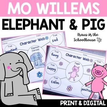 Elephant and Piggie - Mo Willems Book Study
