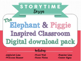 Elephant and Piggie Inspired Classroom decor pack