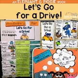 Elephant and Piggie: Let's Go for a Drive Book Study