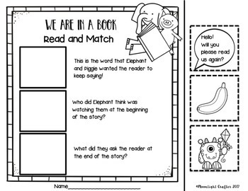 Elephant and Piggie Pack: A Mo Willems Book Study