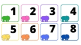 Elephant calendar cards