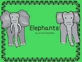 Elephant Mini-Book with Comprehension, Main Idea, Grammar, and Spelling Combo