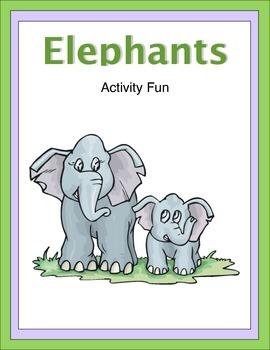 Elephants Activity Fun
