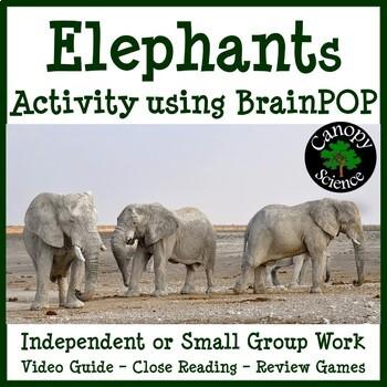 Elephants Activity using BrainPOP