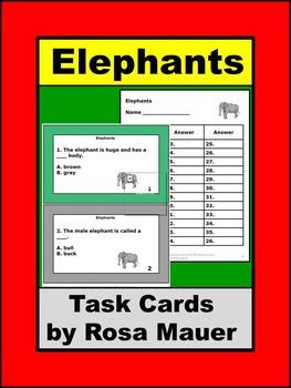 Elephants Animal Lives Series