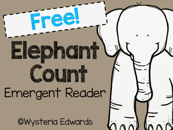 Elephants Count: Emergent Reader