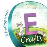 Elephants, Envelopes, Eggs & an Elf! Crafts for Letter E