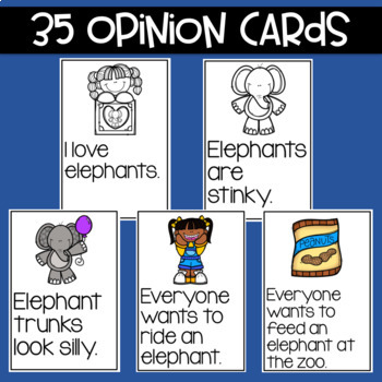 Elephants Fact and Opinion