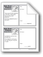 Elephants (Grade 2 Daily Word Problems-Week 24)