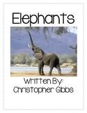 Elephants Nonfiction Text