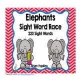 Elephants Sight Word Race