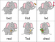 Elephants Under the Bigtop Short E Word Sort