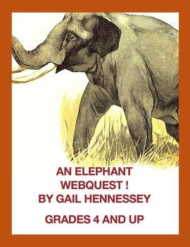 Elephants!On Safari(A Webquest)