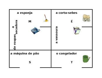 Eletrodomésticos (Appliances in Portuguese) 4 by 4