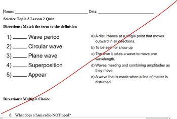 Elevate Science Grade 4 Topic 3- Lesson 2 Quiz & Answer Key
