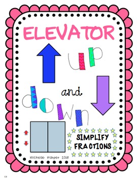 Elevator Game Simplify Fractions