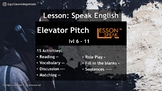 Elevator Pitch lvl 6 - 11 (Distance Learning)