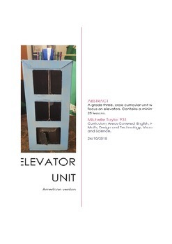 Elevator Cross Curricular Unit - USA Version